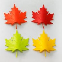 4 шт./лот пластик ABS кленовый лист стиль для домашнего декора палец предохранительный дверной стопор