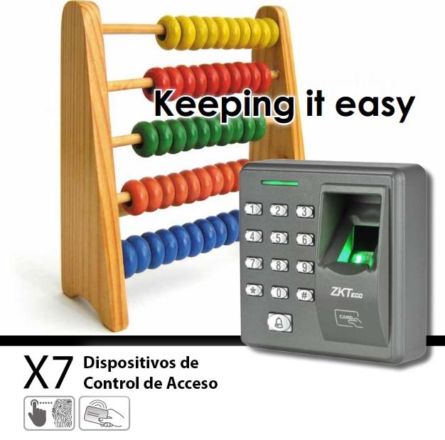 ZK X7 - Control De Acceso Biometrico sistema de control de acceso swing barrier page 2