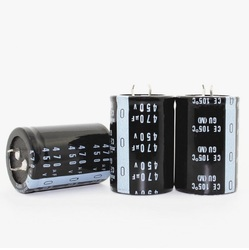 FlashingGoldUniverse 20PCS--2PCS 450 V 470 UF 470 UF 450 V Electrolytic Capacitor ปริมาณ 30*50 มม. 30*45 35 มม. * 45 มม. คุณภาพที่ดีที่สุด