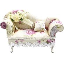 BEIOUFENG модный кукольный стул шкатулка миниатюрная кукольная мебель диван BJD аксессуары для миниатюрного кукольного домика Игрушки для девочек