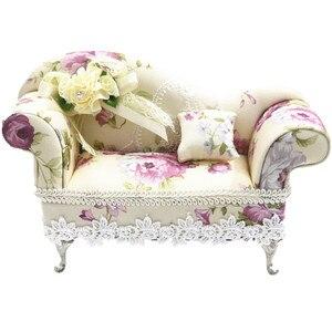 Модный кукольный стул BEIOUFENG, шкатулка для ювелирных изделий, миниатюрная кукольная мебель, диван, BJD аксессуары для миниатюрного кукольного ...