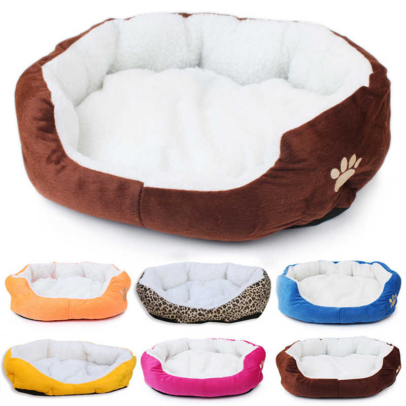 Detail Feedback Questions About 50 40cm Fleece Comfortable Cat Bed