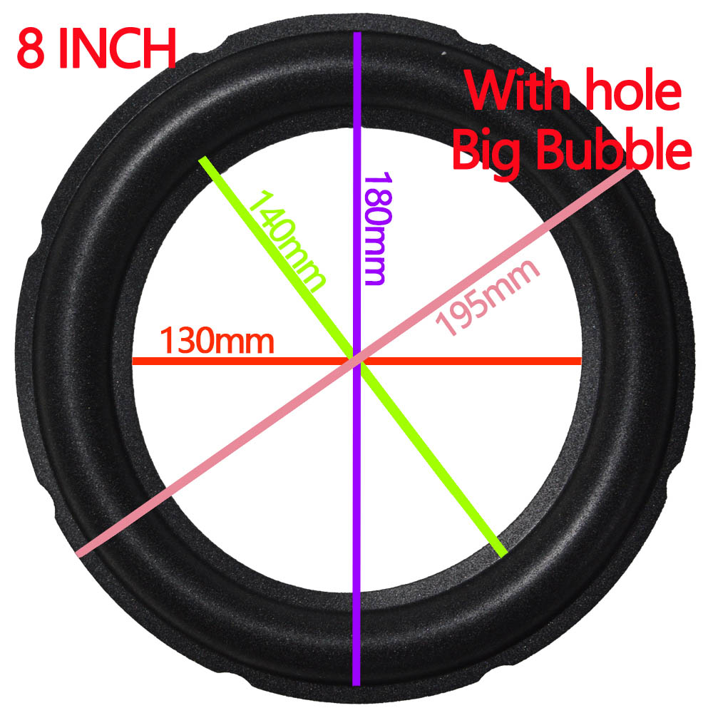 8-INCH-with hole big bubble