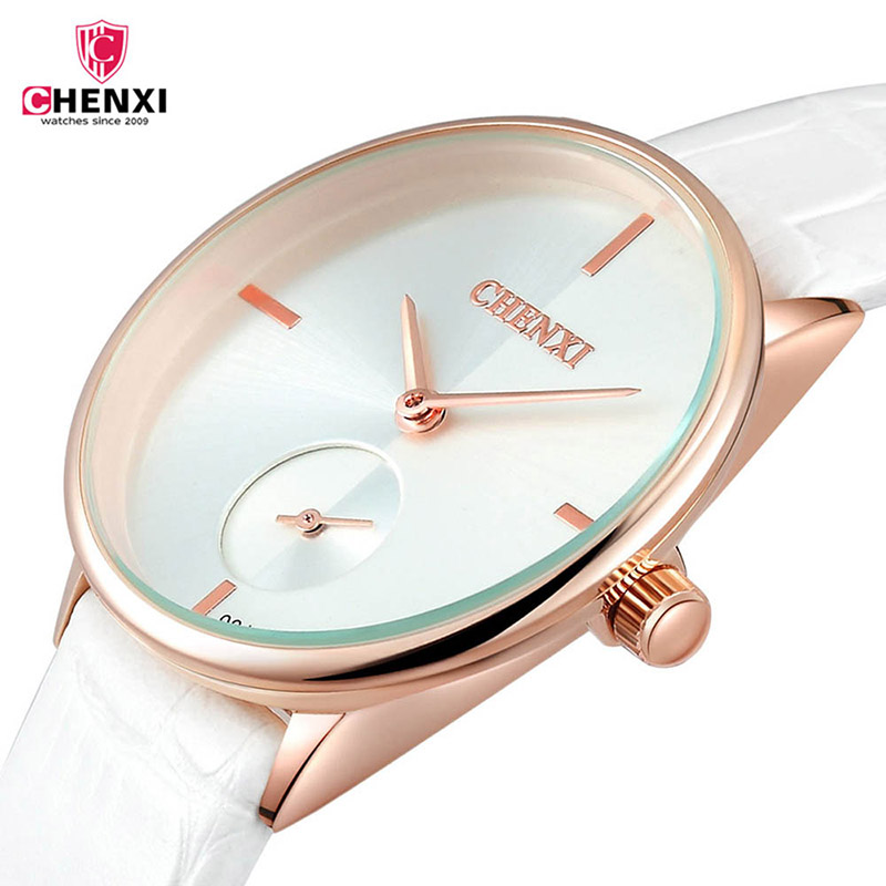 Ultra thin 7MM Women watches Leather Ladies Clock Fashion simple Lovers wrist watches Female Casual Quartz watch women Gift 40 10pcs 0 5mm micro hss twist drilling auger bit for electrical drill new page 1