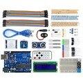 UNO R3 Макет Заранее Комплект с различных Датчиков/ЖК-Дисплей Модуль и Учебник для Arduino