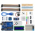 UNO R3 BreadBoard Advance Kit with Variety of Sensors / LCD Display Module and Tutorial for Arduino