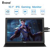Raspberry Monitor 10 2K Portable Mini Laptop Monitor PC HDMI pantalla PS4 Xbox360 LCD LED Display Raspberry Pi 3 moniteur usb