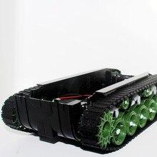 Büyük tork Amortisör Tank Şasi Büyük Tırtıl Araç Süspansiyon Video Araba Kauçuk Arduino için Akıllı Araba