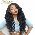 Nadula Beauty Hair Products Brazilian Natural Wave Brazilian Human Hair Sew In Weave 3pcs/lot Natural Deep Wave Virgin Hair Deal