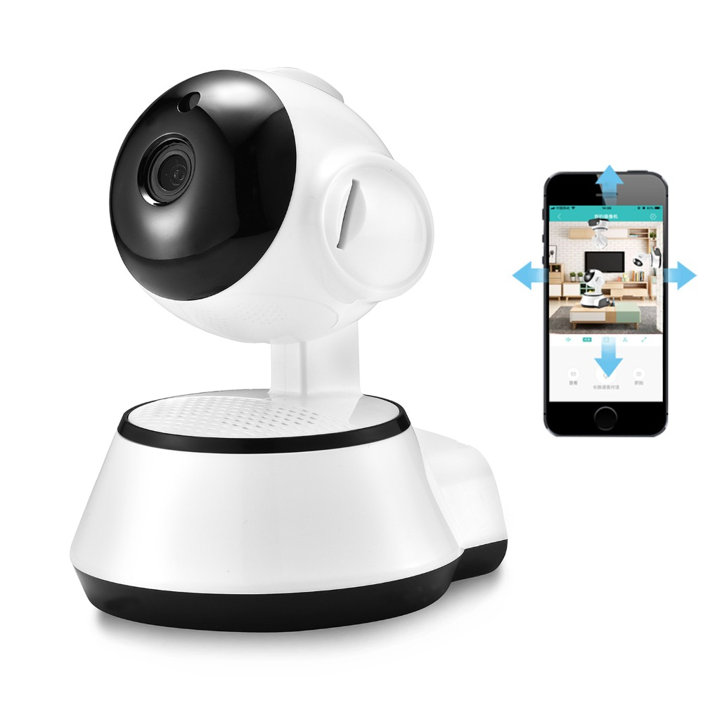 BESDER Home Security IP Camera Wi-Fi Wireless Mini Network Camera Surveillance Wifi 720P Night Vision CCTV Camera Baby Monitor