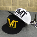 High quality TMT Courtside Snapback flat hat baseball cap tide Men and women bone hip-hop dance hat adjustable brand sport