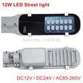 Высокое качество 12 Вт светодиодный уличный свет DC12V DC24V AC85-265V СВЕТОДИОДНЫЙ дорожный свет теплый белый/холодный белый Светодиодный уличный с...