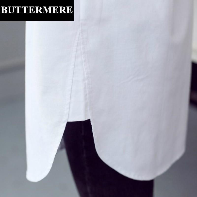 BUTTERMERE Brand Tøj Plus Størrelse Kvinder Hvid Bluse 4XL 5XL Stor - Dametøj - Foto 6