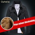 Men's winter coat New Arrival Fashion Men Winter Style Cotton Trench Thicker Outdoors Outwear Keep Warm Jacket Coat