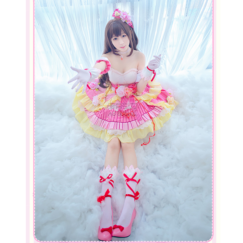 THE IDOLM@STER CINDERELLA GIRLS Shimamura Uzuki Cosplay IDOL MASTER Shimamura Uzuki Costume Japanese Anime Cosplay