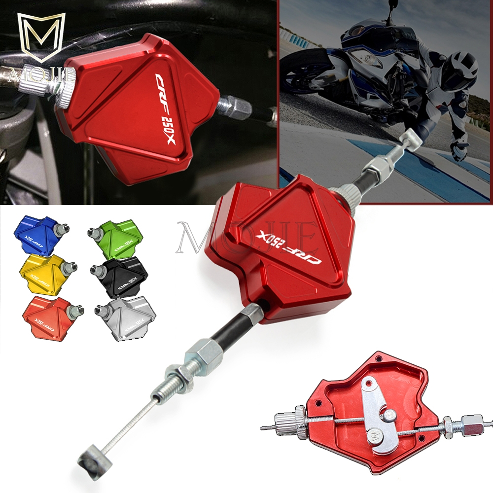 Motorcycle CNC Aluminum Stunt Clutch Lever Easy Pull Cable System For HONDA CRF250X <font><b>CRF</b></font> <font><b>250X</b></font> 250 CRF250 X <font><b>2004</b></font>-2017 2016 2015 image