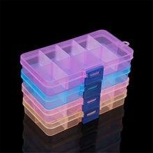 5 шт/лот прозрачный цветной пластиковый органайзер для дизайна