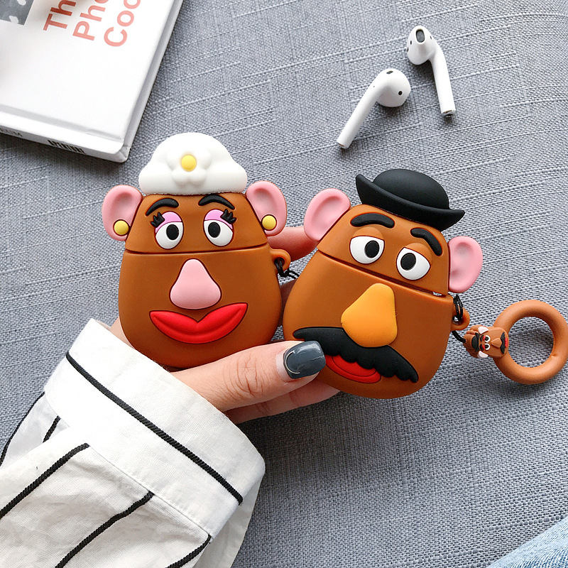 Cartoon Couple AirPod Case