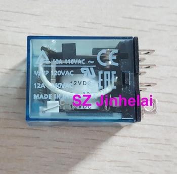 100%Authentic original LY2N-J(LY2NJ) 12VDC OMRON 8Pin Relay  DC12V  10A