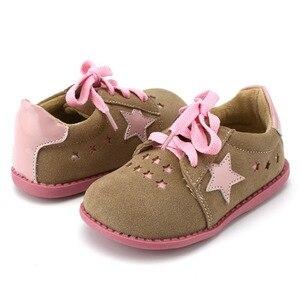 Image 1 - TipsieToes Thương Hiệu Chất Lượng Cao Da Thật Khâu Trẻ Em Giày Trẻ Em Ngôi Sao Cho Bé Trai Và Bé Gái 2020 Apring Hàng Mới Về