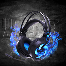 PLAYERUNKNOWNS BATTLEGROUNDS E-sports gaming headphones lighting version of the Internet cafe dedicated earphone game