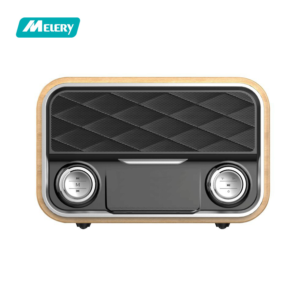 Remax Rb H8 Retro Wood Dual Loudspeakers Wireless Bluetooth Speaker Type M23 Series Grey Home Stereo Rechargeable Loud Fm Radio Portable System Bass For