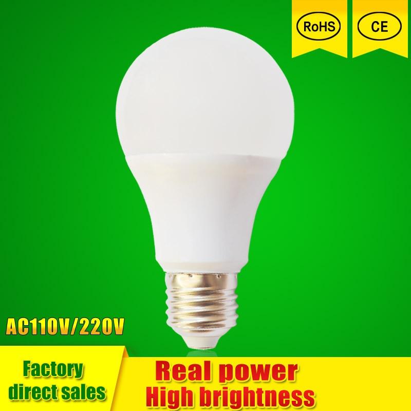 LED Lamp E27 110v 220V 3W 5W 7W 9W 12W 15w Lampada LED Light SMD2835 Christmas Chandelier Lights Bombillas Lamparas LED bulb b22 led bulb 230v 220v 110v e27 e26 smd 2835 3w 5w 8w 10w 12w 15w led light led lamp led lampada aluminum cooling high brigh ball