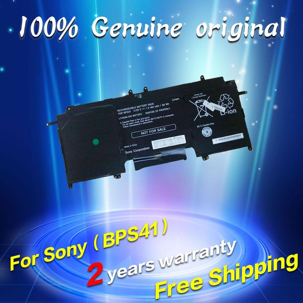 Free shipping VGP-BPS41 BPS41 Original laptop Battery For SONY VAIO Fit 13A PC Tablet 11.25V 3140MAH 3 75v 9000mah new original laptop battery for yoga 10 tablet b8000 10 battery l13d3e31 l13c3e31 batteries free shipping