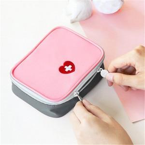 Image 5 - FOURETAW 1 Piece Creative Portable Travel Medical Kit Desk Mini First Aid Kit Sundries Storage Bags Outdoor Car First Aid Bag