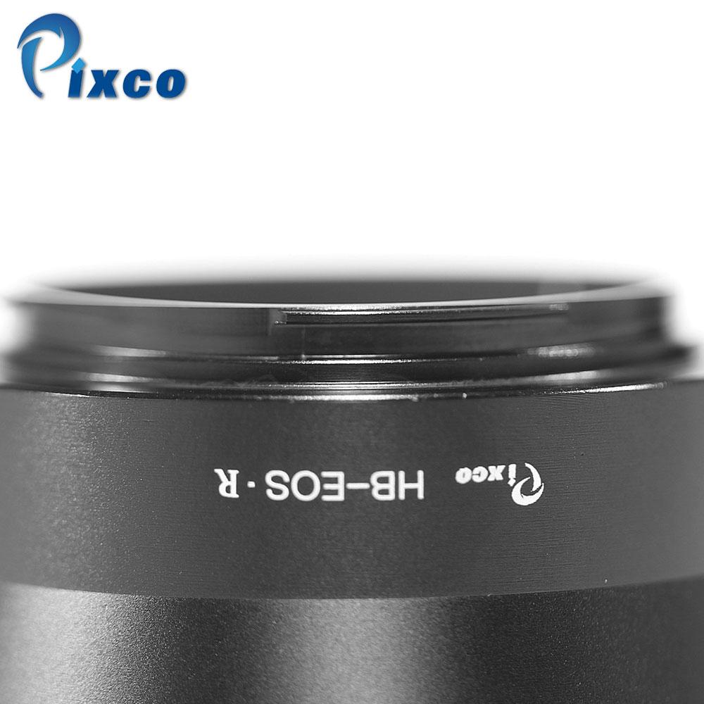Pixco adaptateur de montage d'objectif pour HB-EOS.R anneau d'adaptateur de montage d'objectif pour lentille Hasselblad V vers caméra de montage Canon EOS R - 6