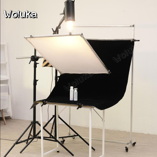Portrait Product Light Absorbing Cloth Photography Pure Black Background Black Flocking Cloth Reflective Cloth   CD50 T08