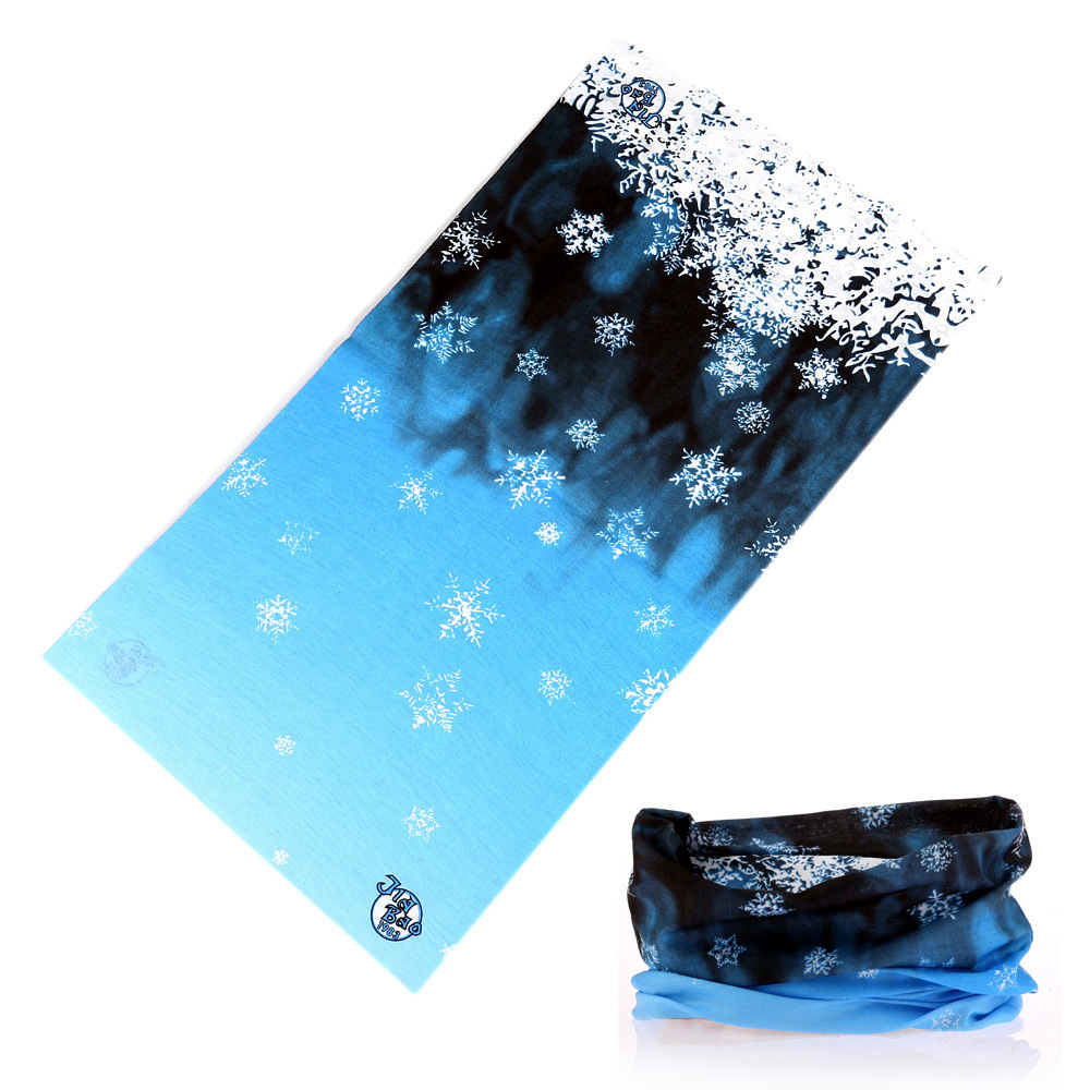 Summer 3D Magic Seamless Black Wolf Head Scarfs  Accessories For Girls Unisex Outdoor Cycling Carf Hijab Wristband Bandana  Pare