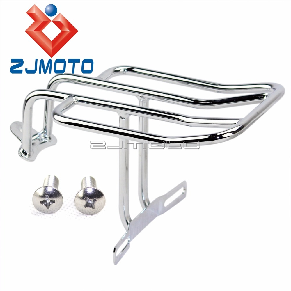 New Motorcycle Luggage Rack Rear Support Shelf For Harley Sportster ...