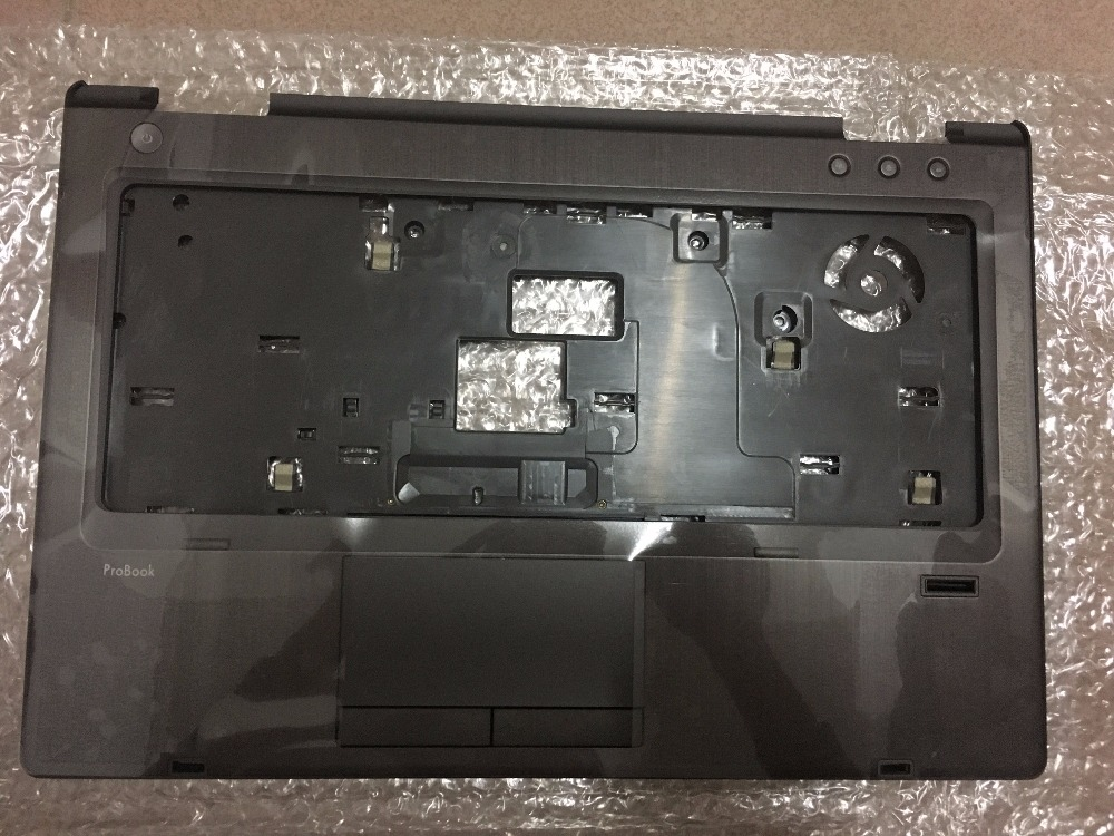 New Original For HP 6460B 6465B 6470B 6475B Palmrest Cover Upper Case with Touchpad 642743-001 neworig keyboard bezel palmrest cover lenovo thinkpad t540p w54 touchpad without fingerprint 04x5544