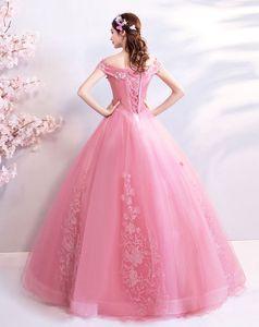 Image 2 - Walk bside You vestido de graduación con apliques, largo vestido de baile con hombros descubiertos, vestidos nocturnos de novia, vestido de novia