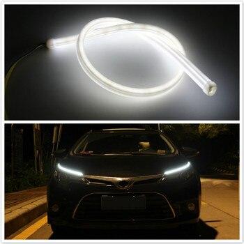 Для Mercedes Benz W211 W203 W204 W210 W205 W212 W220 W221 W163 W164 C180 C200 AMG C SLK GLK DRL светодиодный фонарь дневного света