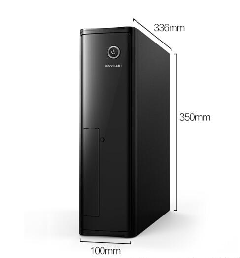 Intel Настольный ПК IPASON Самый дешевый процессор G4900 безвентиляторный мини ПК Windows 10 Barebone компьютер DDR4 4G 240G SSD HTPS WiFi HDMI VGA