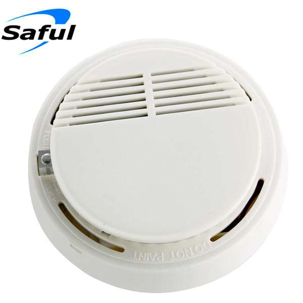 Free shipping High Sensitive Photoelectric Home Security System Cordless Wireless Smoke Detector for gsm alarm system 5pcs 433mhz sensor sensitive photoelectric home security system cordless wireless smoke detector fire alarm for home protection