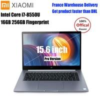 Xiaomi Mi Laptop Notebook Pro 15.6 inch Windows10 Intel Quad Core I5/I7 1.8GHz 16G 256GB Fingerprint NVIDIA MX150 Gaming Laptop