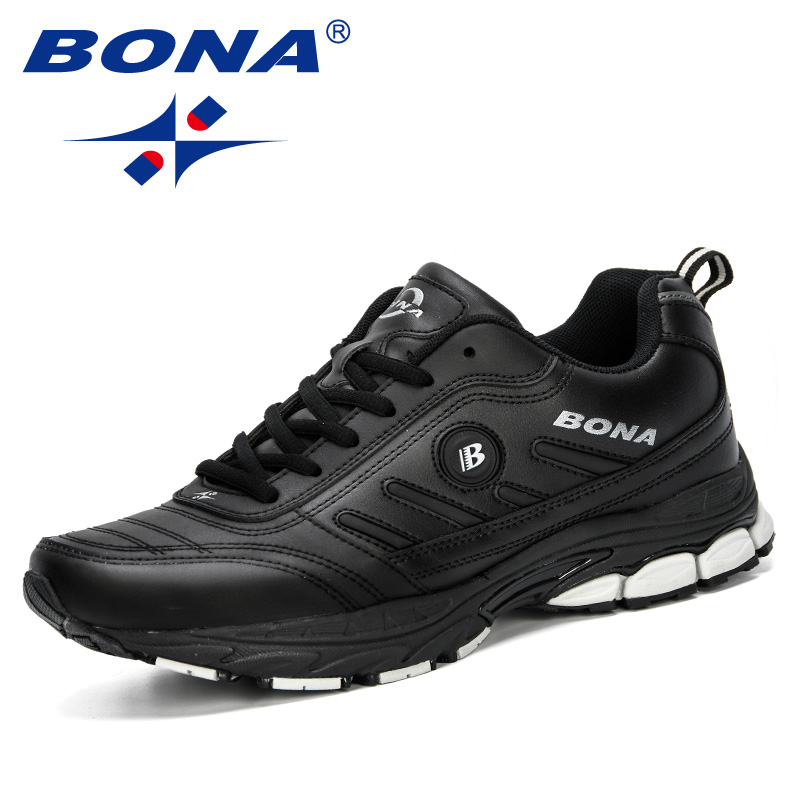 Image 2 - BONA 2019 Spring Autumn Men Running Shoes Breathable Outdoors  Sports Shoes Zapatos Jogging Comfortable Athletic Male SneakersRunning  Shoes