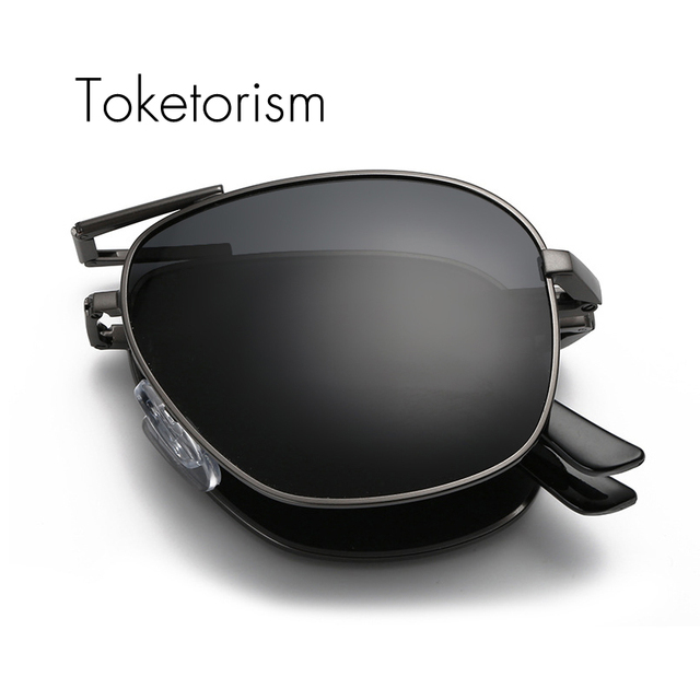 49a414f98a Toketorism New 2017 sun glasses women men folding sunglasses vision driving  polarized foldable eyewear 543A