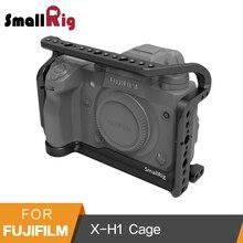 SmallRig Gaiola de Proteção para Câmera Fujifilm X-H1 Com Bulit-na NATO Trilhos Placa Arca Swiss-2123