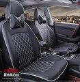 На ваш вкус автомобильные аксессуары на заказ роскошные кожаные чехлы на сиденья для PEUGEOT 206 207 301 307 408 308S 508 407 607 уютные