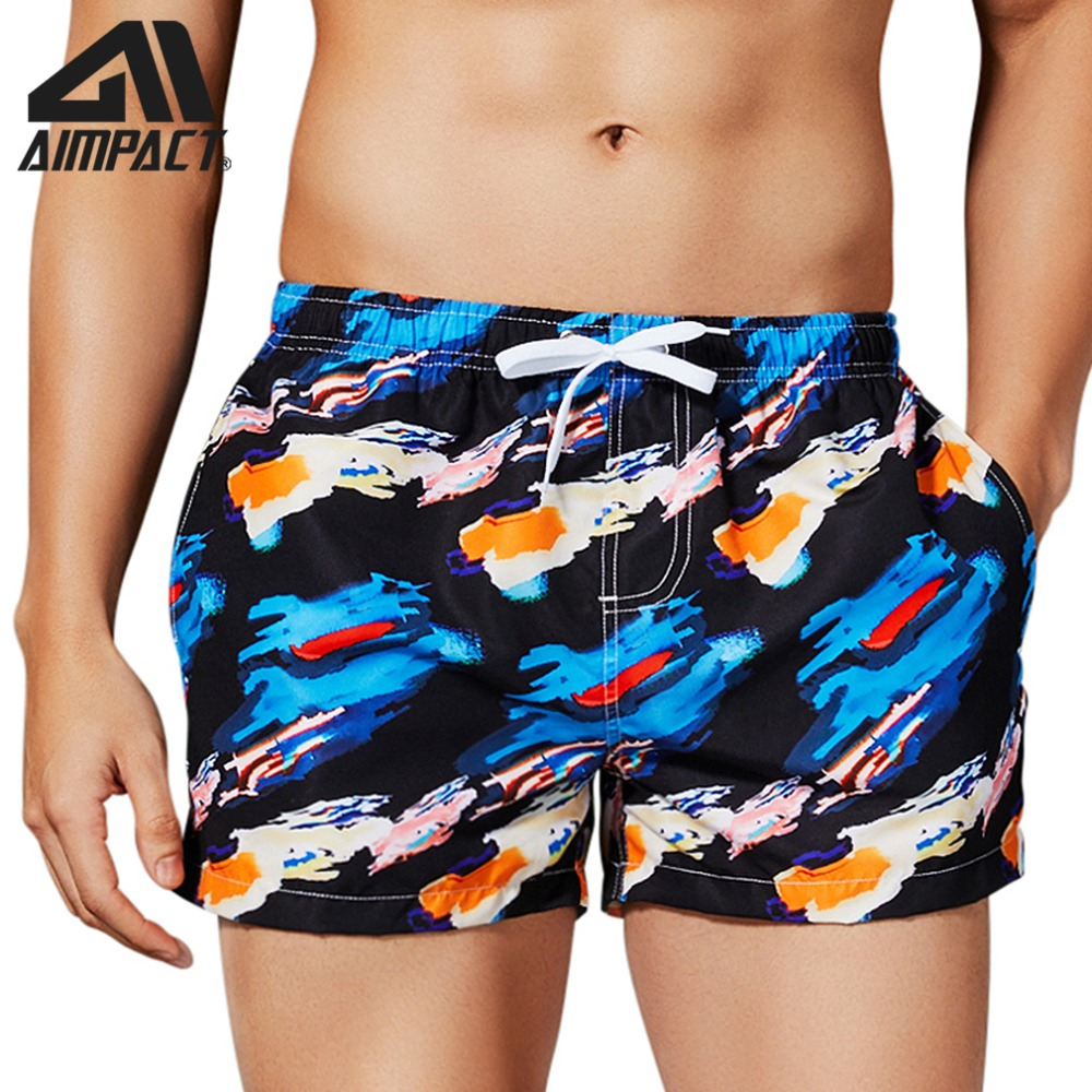 Fashion Casual Lightweight Quick Dry Swimming Trunks for Men Summer Drawstring Watershorts Beach   Board     Shorts   with Pocket AM2183