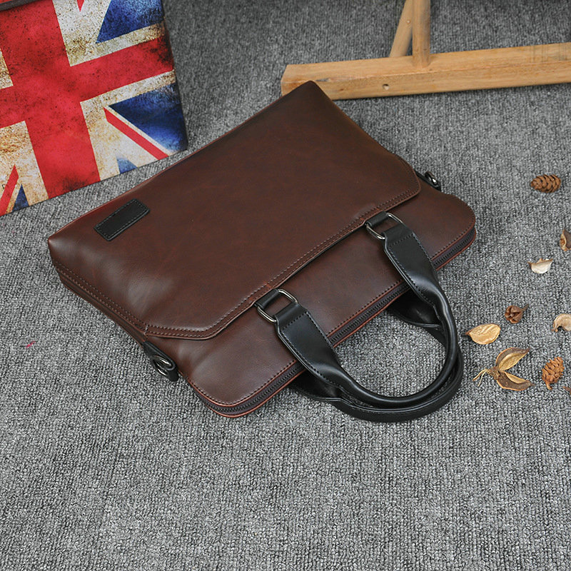 New Design PU Leather Briefcase for Men 7