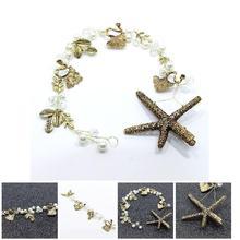 Fashion Bridal Hairband Handmade Starfish Tiara Wedding Hair Accessories Bridal Jewelry Party Head Bands CX17
