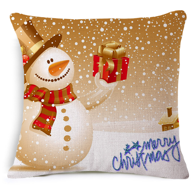 Abc Home Decorative Pillows : New Seat Cushion Without Core Christmas series Decorative Home Decor Sofa Chair Throw Pillows ...