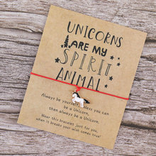 Make A Wish Unicorn Wish Bracelet Unicorns Are My Spirit Ani