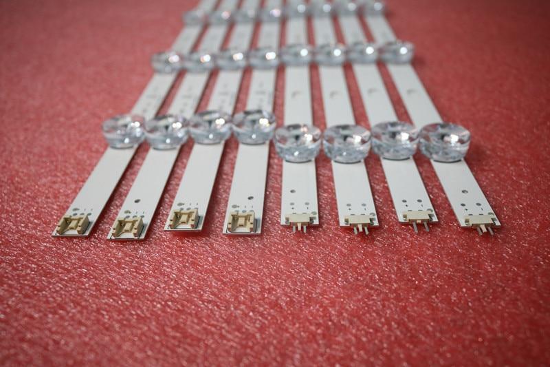 100 New LED Backlight bar Array For LG 49 inch TV 49Lb5550 49LF5500 Innotek DRT 3