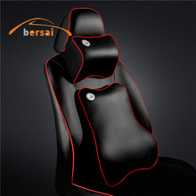 solf Memory Cotton Car seat headrest car seat lumbar support Car styling For Hyundai Kia Nissan Mazda Ford Jeep Seat accessories ceyes car styling case for mazda for toyota alphard skoda bmw m nissan for seat kia auto seat belt cover accessories car styling